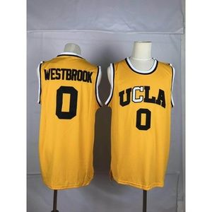 UCLA Russell Westbrook Gold Jersey